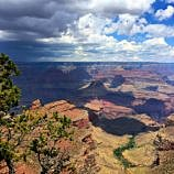 Storm brewing at the Grand Canyon