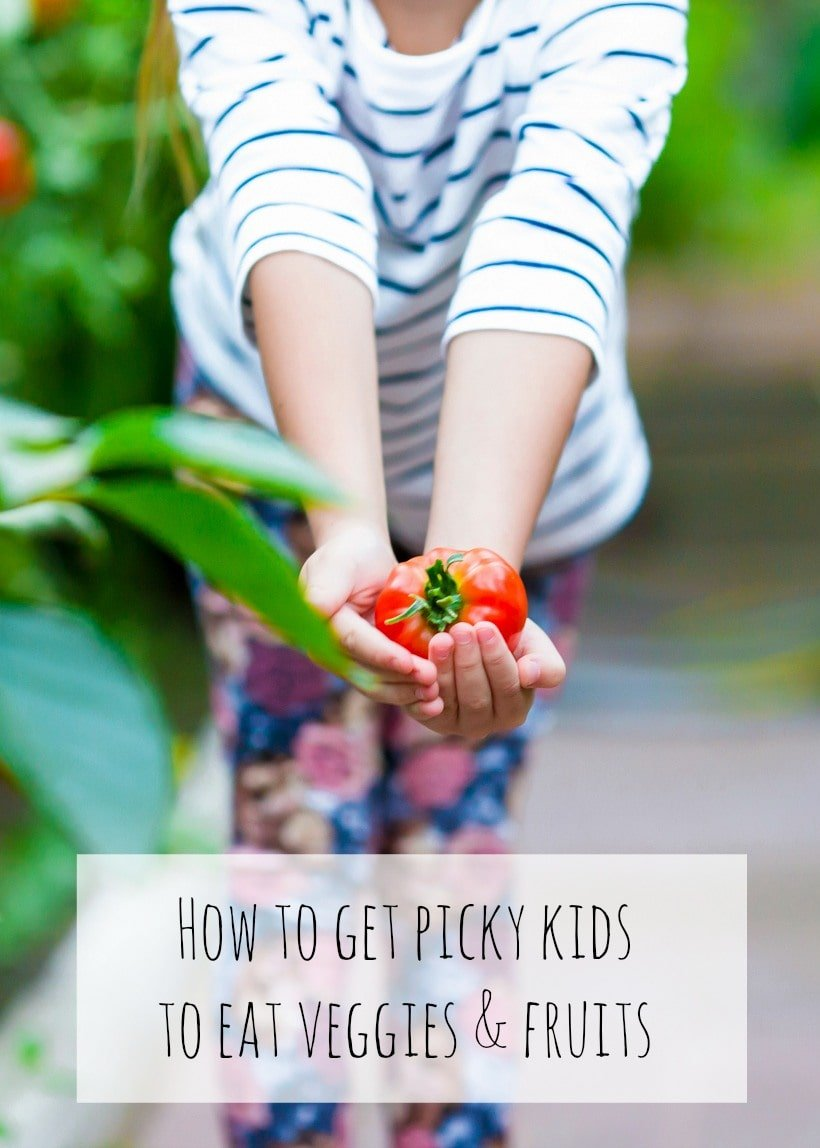 How to get picky kids to eat vegetables and fruits