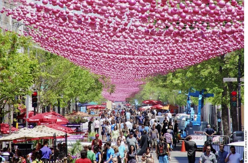 Aires Libres art festival in Montreal ~ Montreal with Kids