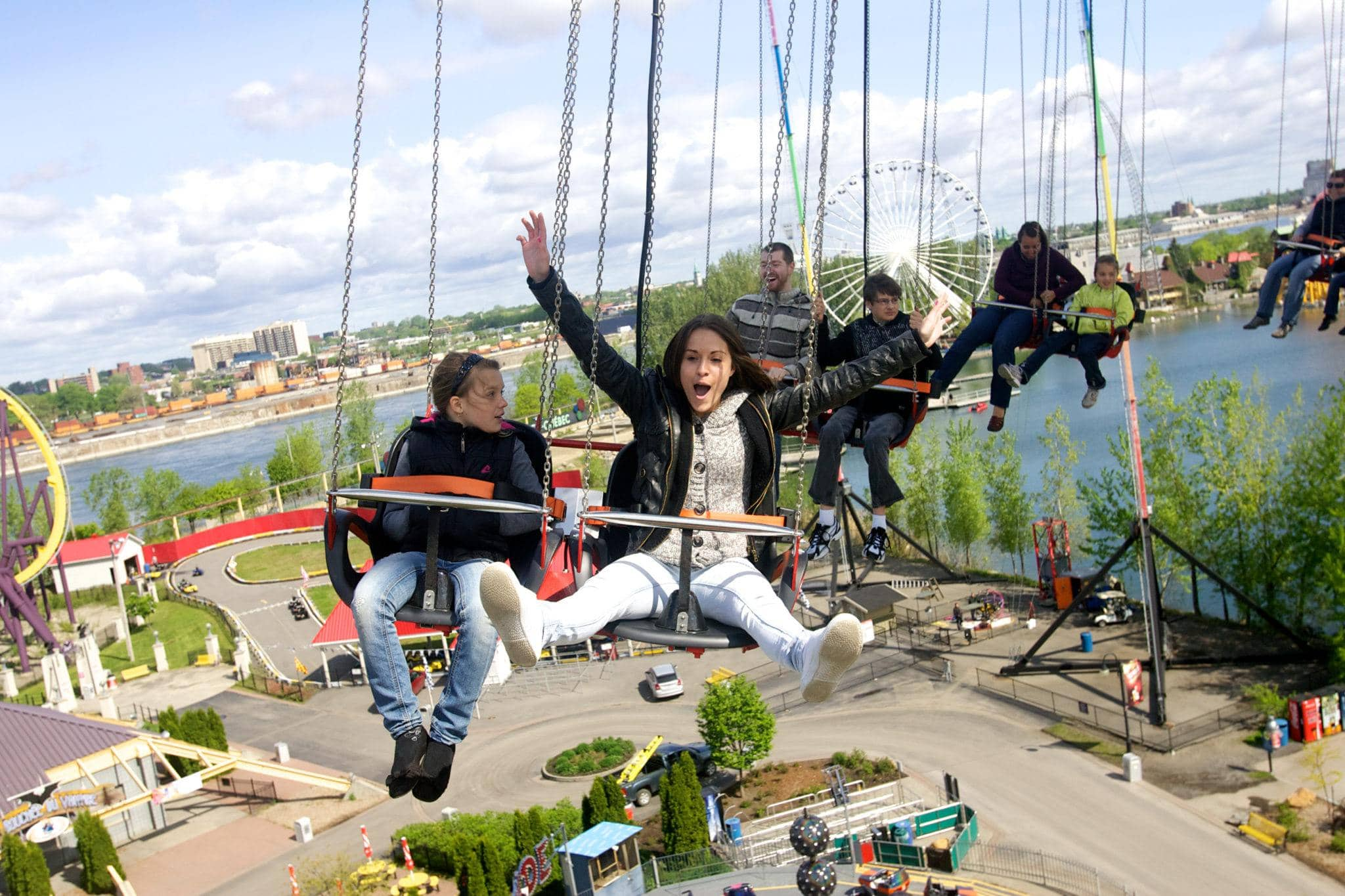 La Ronde Amusement Park ~ Montreal with Kids