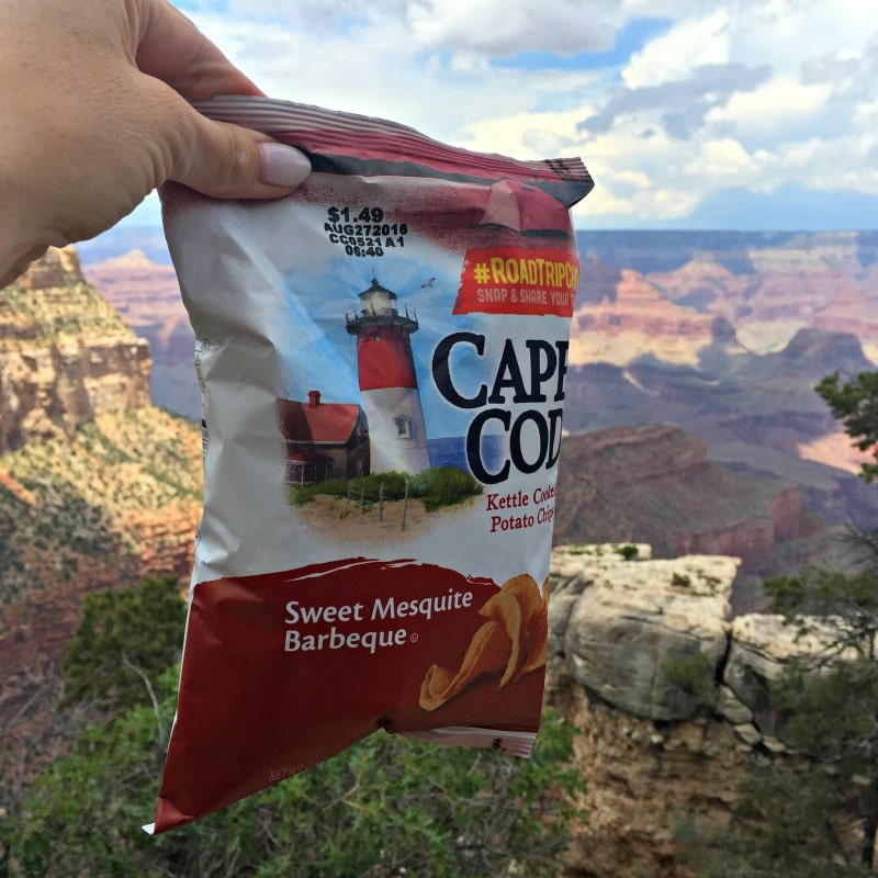 Share a #RoadTripChip pic for a chance to win Cape Cod chips