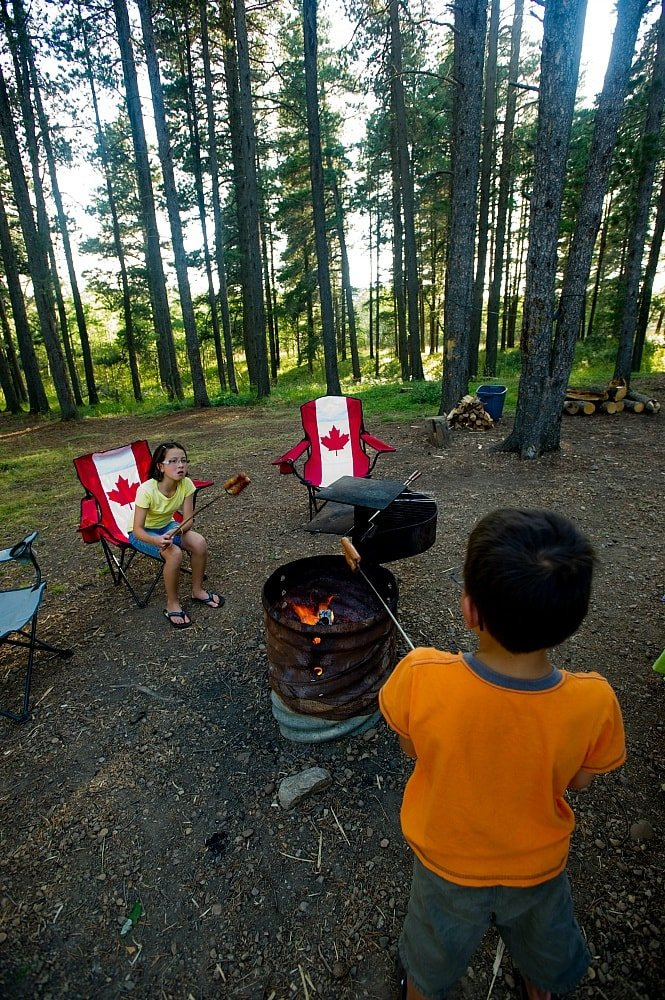 Camping is a blast with kids at Cypress Hills Intra-Provincial Park