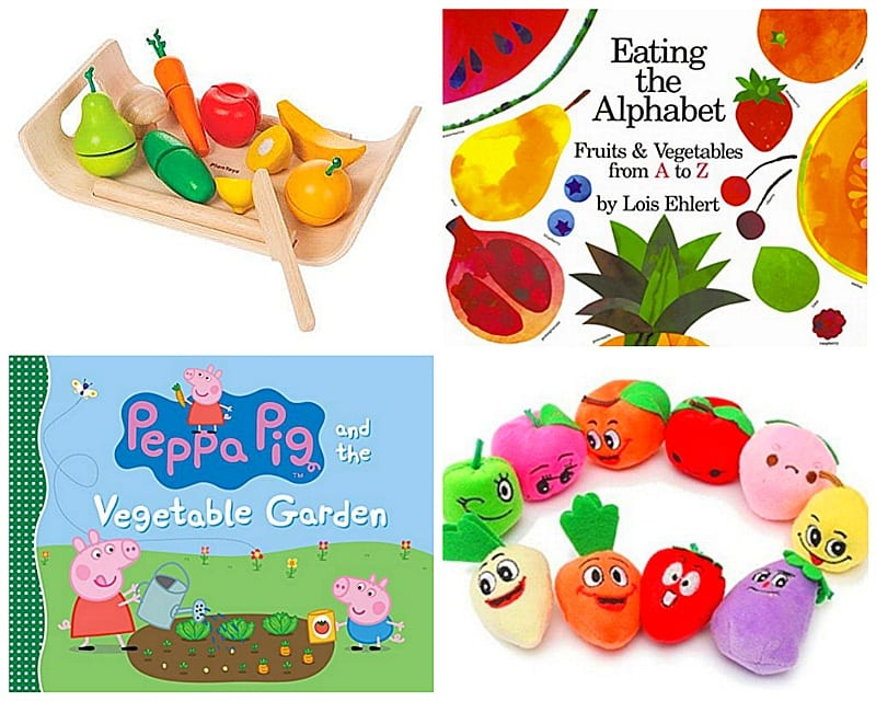 Encourage healthy eating through playtime ~ How to Get Picky Kids to Eat Vegetables and Fruits