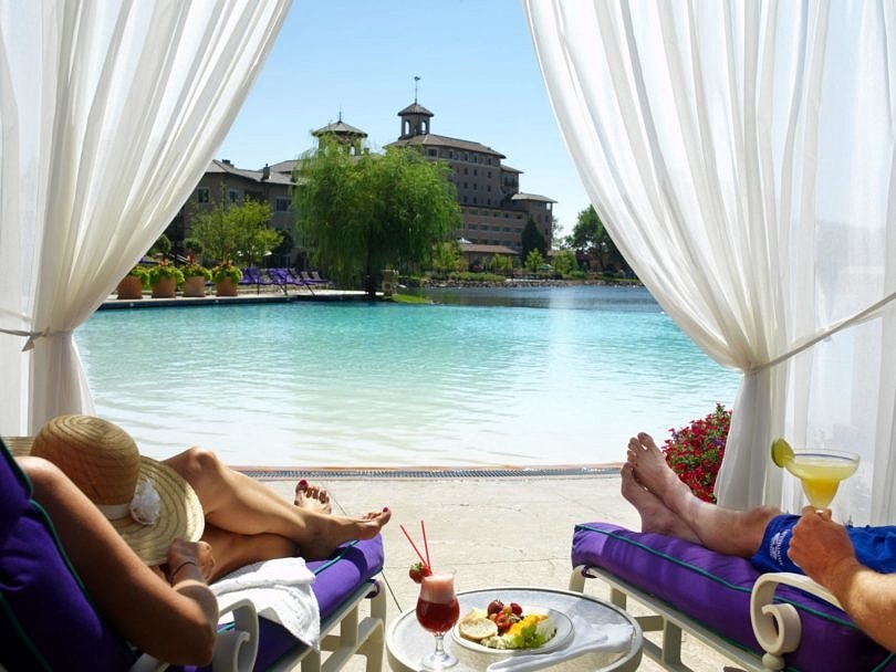Prepare to be pampered at the Broadmoor's pools ~ 10 Best Hotel Pools for Kids in the USA