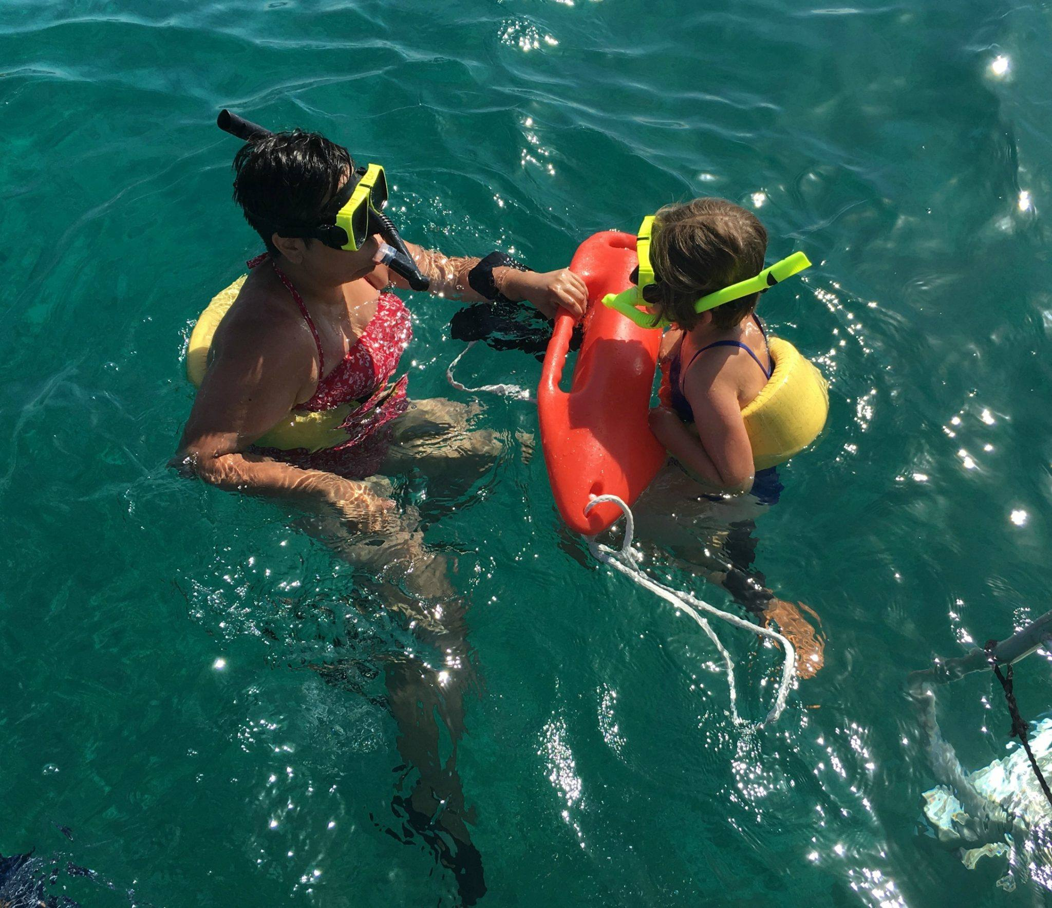 Snorkeling Puerto Rico at El Conquistador Resort with Kids