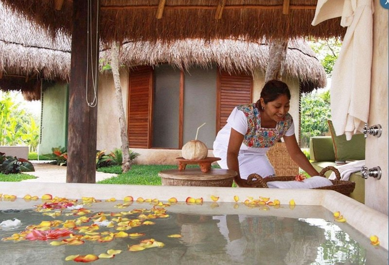 Luxury spa treatment at Hacienda Petac ~ Yucatan Hacienda Hotels
