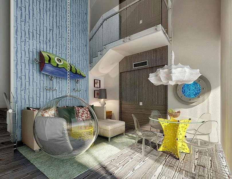 The Pineapple at Nickelodeon Hotels & Resorts Punta Cana features Bikini Bottom-inspired decor and luxe amenities ~ 5 Hotels Suites for Kids that Feel Like Stepping into a Movie