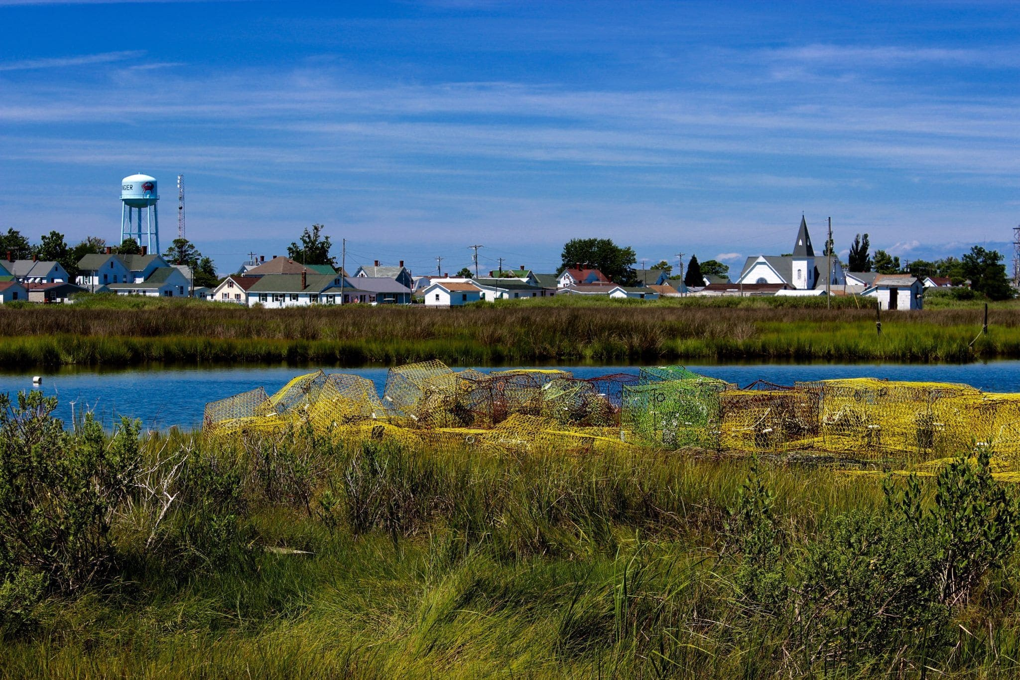 Bay View of Tangier Island (Photo Credit: Shannon Conner)
