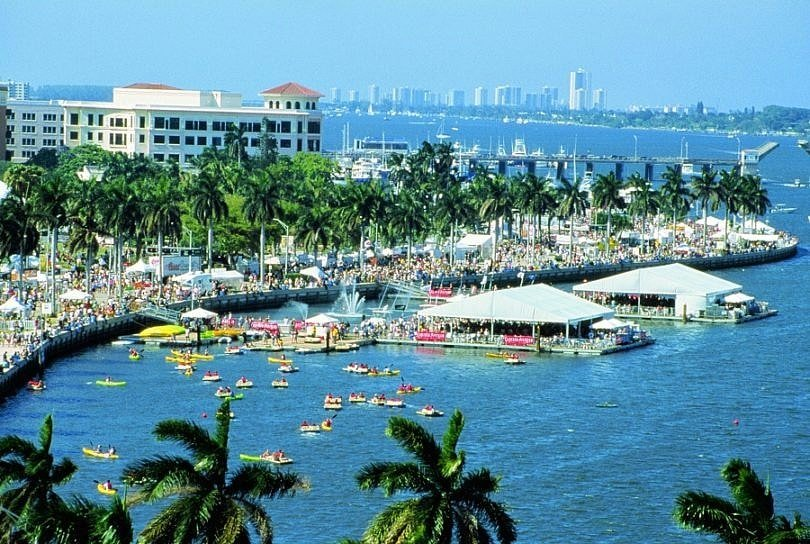 SunFest at West Palm Beach Waterfront ~ Fun Things to Do in Florida's Palm Beach County with Kids