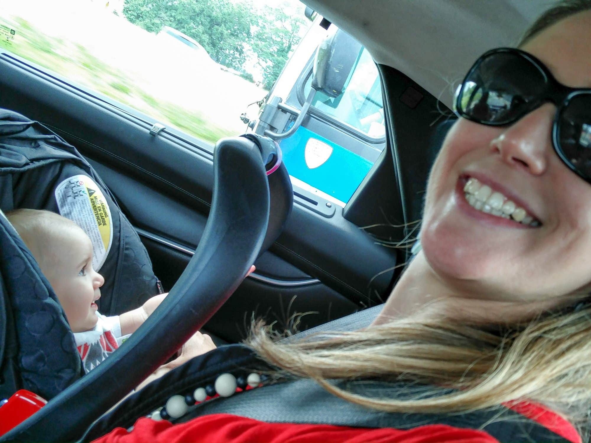 Keeping baby occupied in the car ~ 10 Traveling with Baby Tips from a Travel Daddy