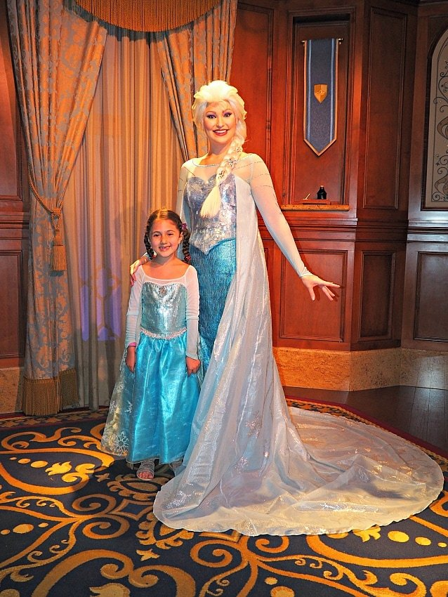 Meeting Anna and Elsa is one of the most in-demand FastPass+ reservations at Walt Disney World ~ FastPass+ Tips for Savvy Parents