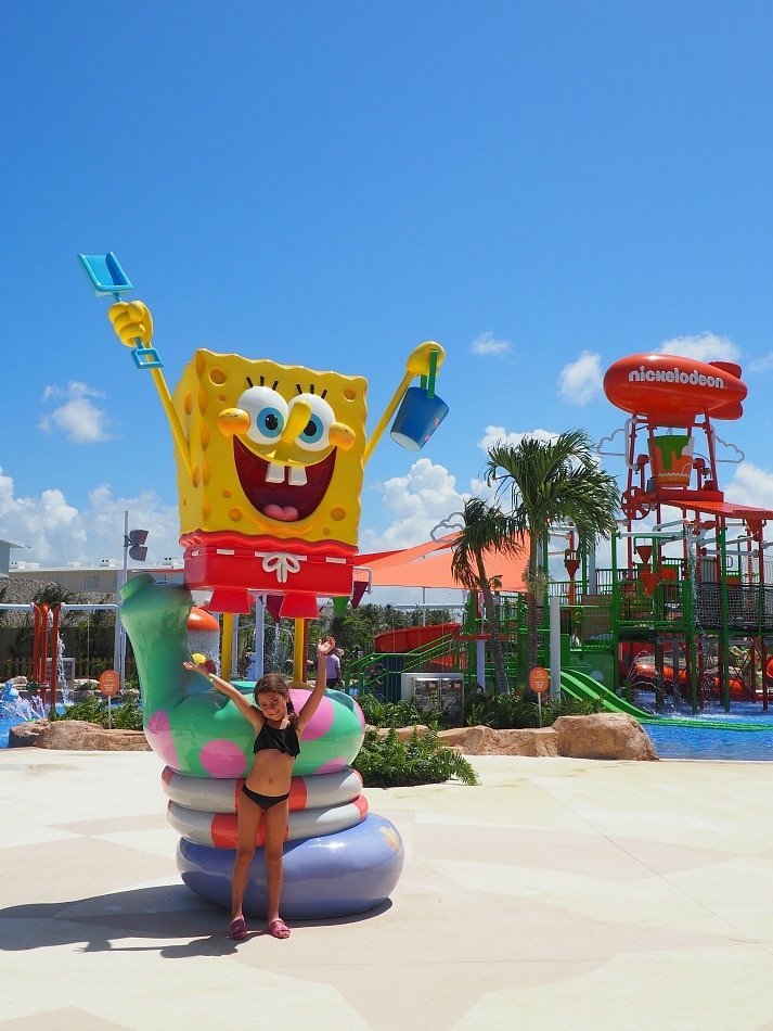 Aquanick waterpark at Nickelodeon Hotel Punta Cana