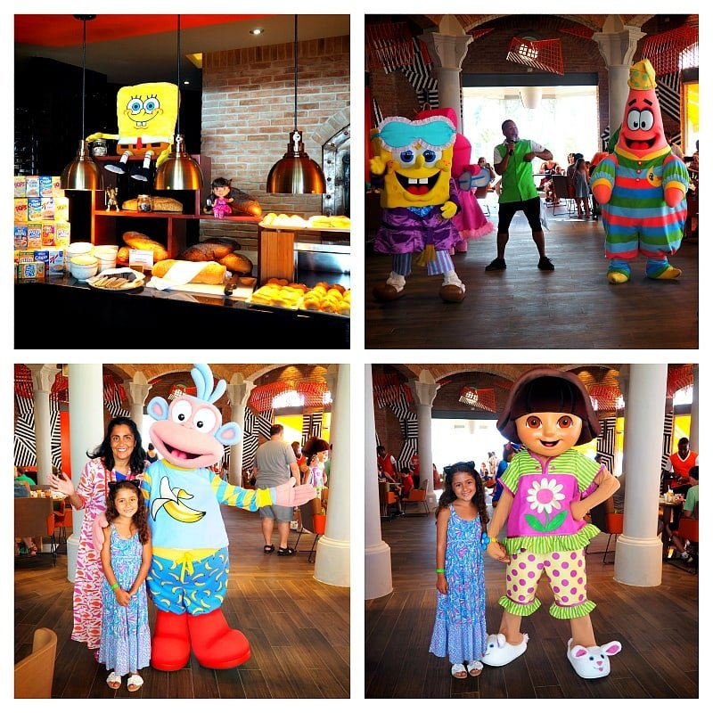 A character breakfast at Nickelodeon Hotel Punta Cana is not to be missed!