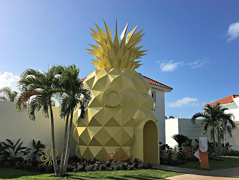 The Pineapple suite at Nickelodeon Hotel Punta Cana