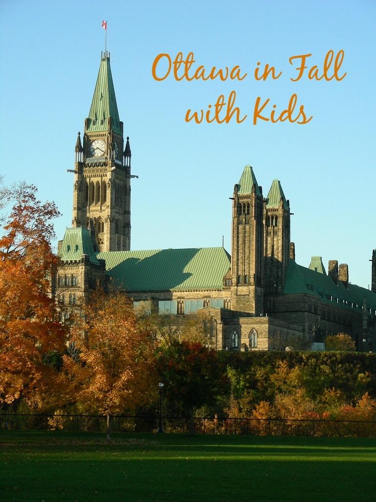 Parliament Hill in Ottawa in Fall