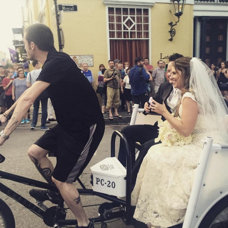 Newlyweds in the French District ~ 10 Ways to Find Romance in New Orleans