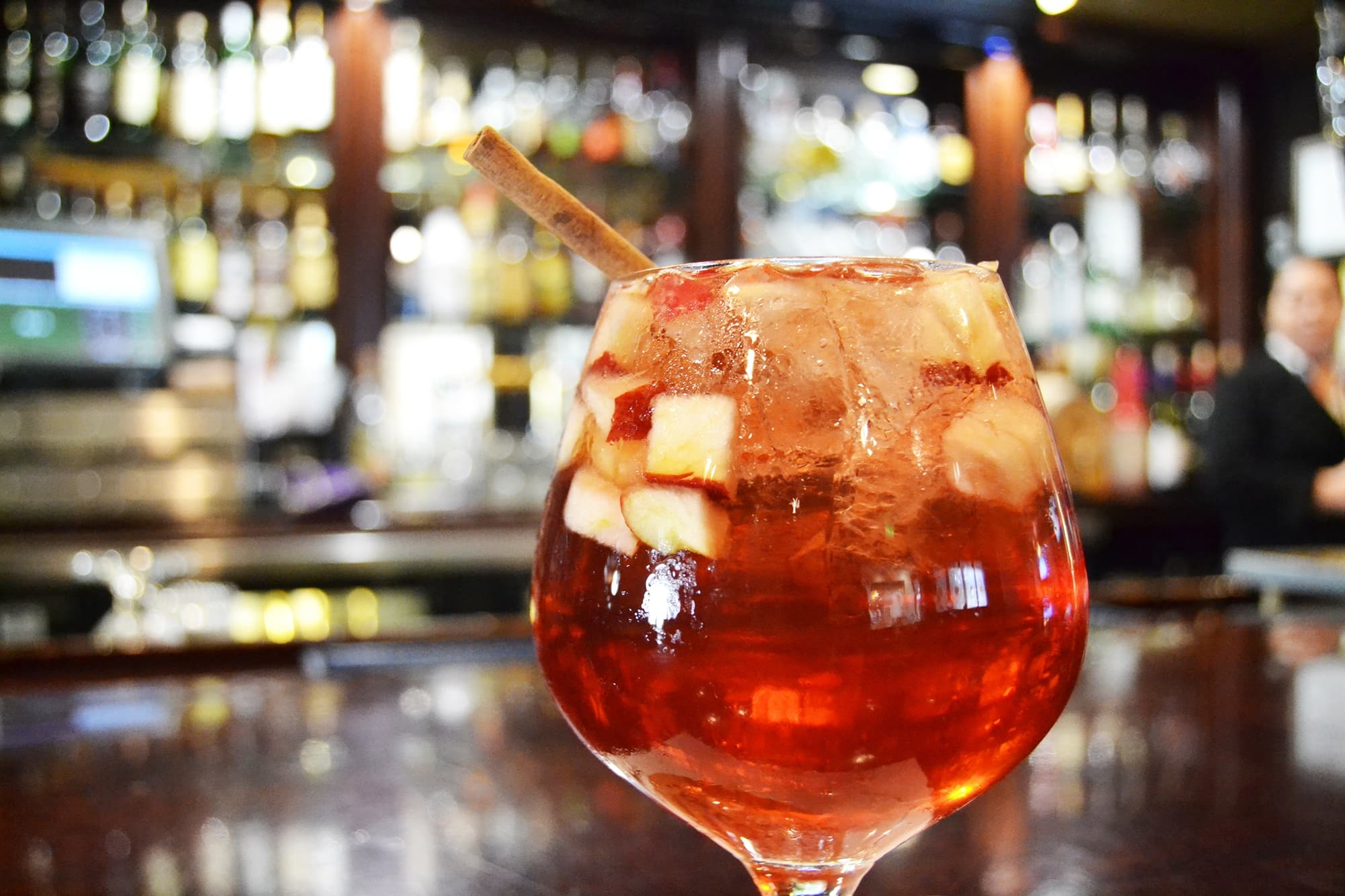 Best Fall Cocktail Recipes ~ Cider Sangria from One Lincoln at the Gettysburg Hotel