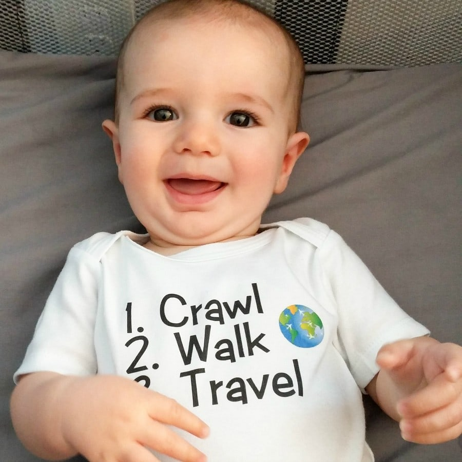 Traveling with a baby is fun and easy with these tips!