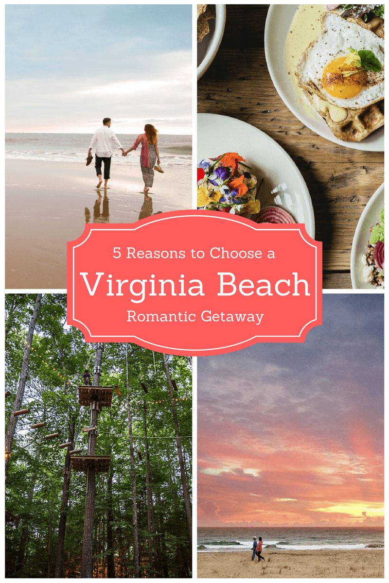 5 Reasons to Choose a Virginia Beach Romantic Getaway