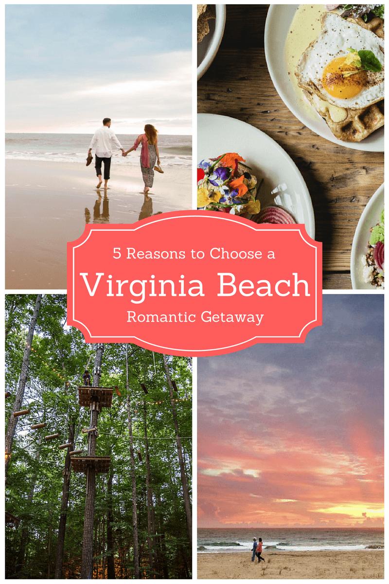 5 Reasons to Choose a Virginia Beach Romantic Getaway