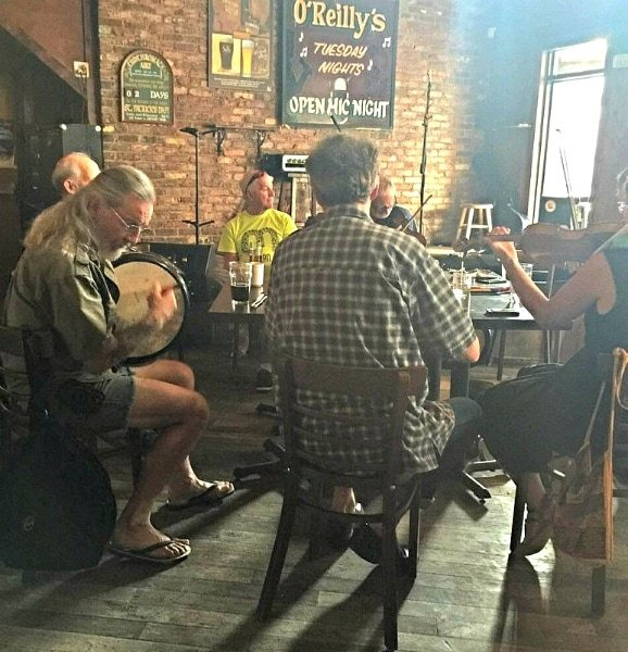 Sunday afternoon Irish music circle at O'Reilly's Pub in St. John's ~ 5 Destinations that Feel Like Europe in North America