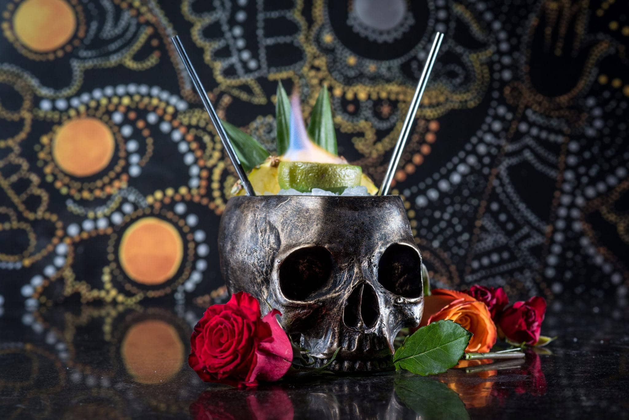 Halloween cocktail recipes: The One-Eyed Willy from Borracha in Hendersonville, Nevada