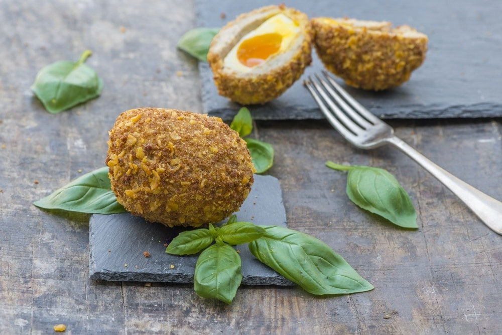 Scotch Eggs ~ 8 Traditional British Foods with Funny Names