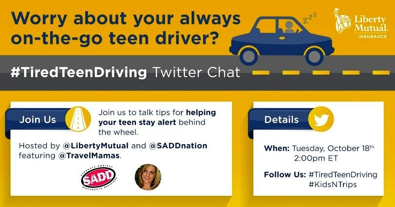 Safe Teen Driving Twitter Party