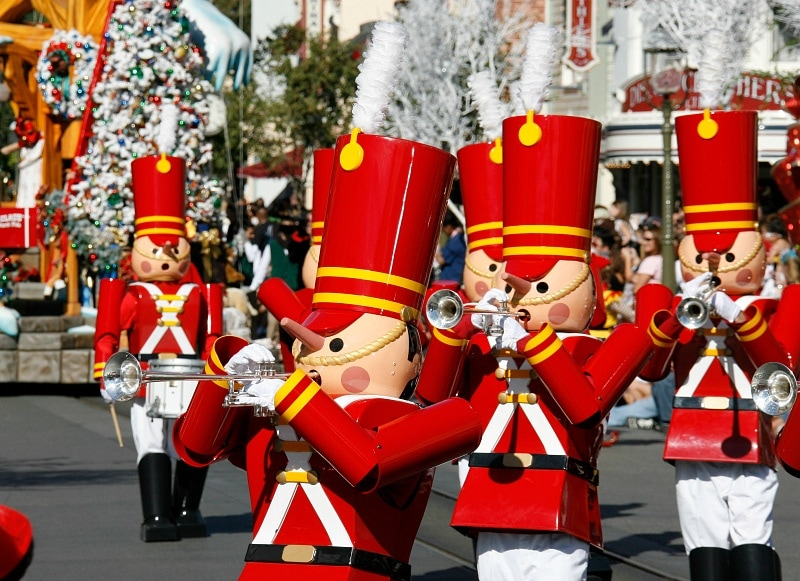Christmas festivities commence in the fall at Disneyland ~ 8 Reasons You'll Fall in Love with Disneyland in Fall
