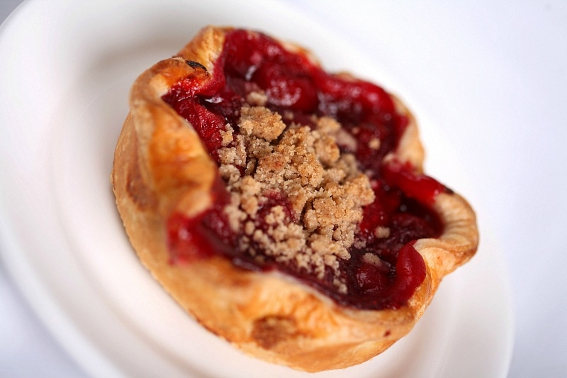 Top off your Thanksgiving meal at Flo's V8 Cafe in Cars Land with one of their seasonal fruit pies ~ 8 Reasons to Visit Disneyland in Fall