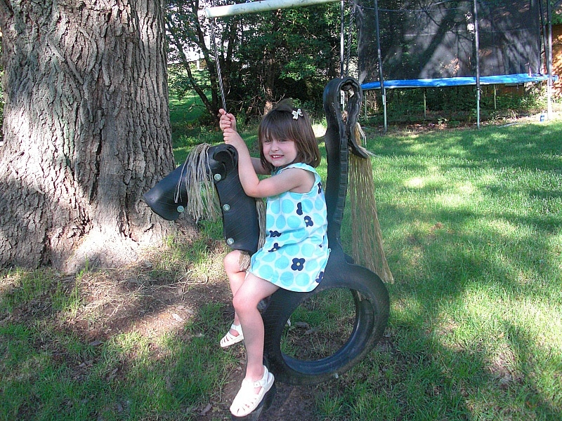 Home Exchange tire swing perk ~ How to do a home exchange
