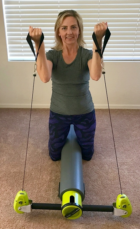 Bicep curls with the MOTR complete home gym ~ Pilates at Home with MOTR by Balanced Body