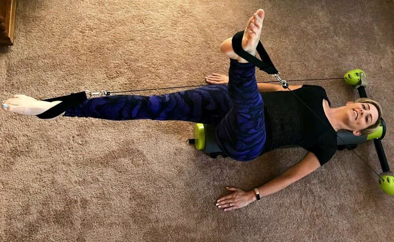 Pilates at home leg lifts with MOTR by Balanced Body