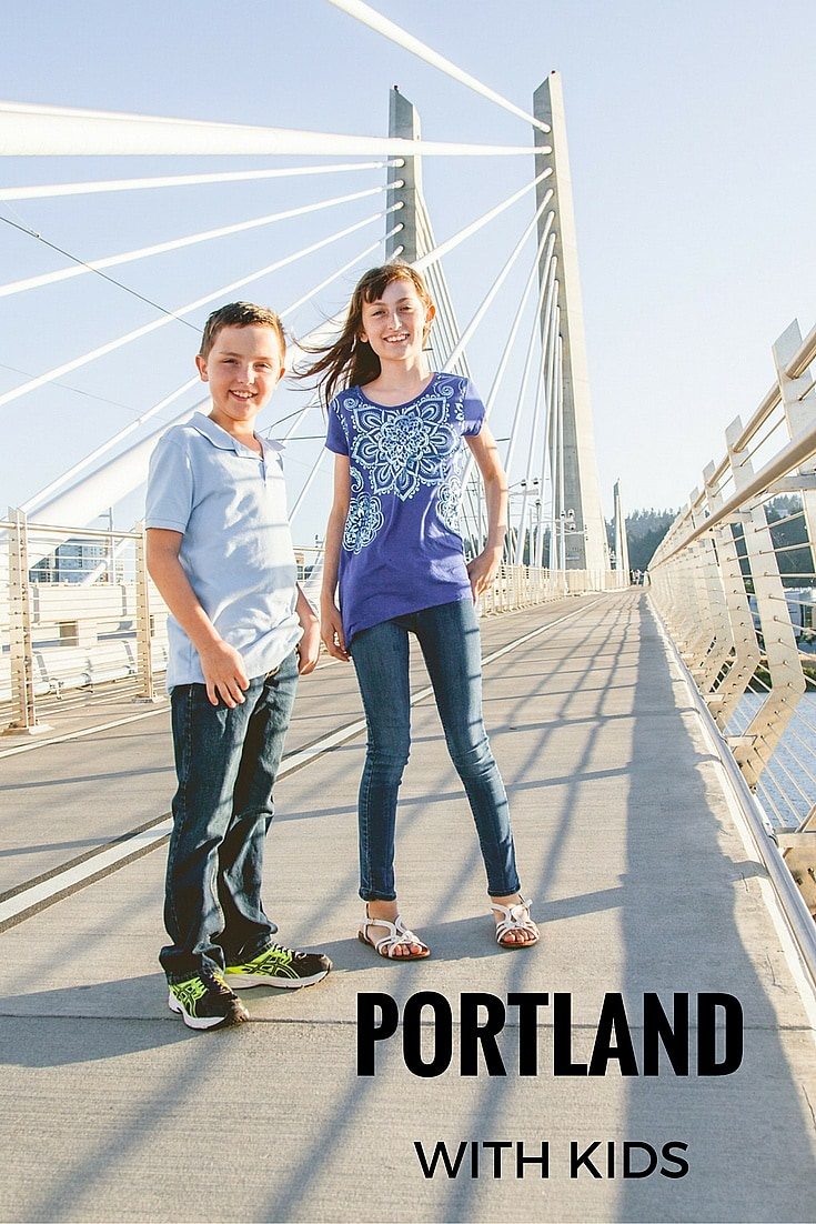 Enjoying Bridgetown with kids ~ 10 Ways to Keep Portland Weird with Kids (Photo credit: Whitney, Portland Flytographer)