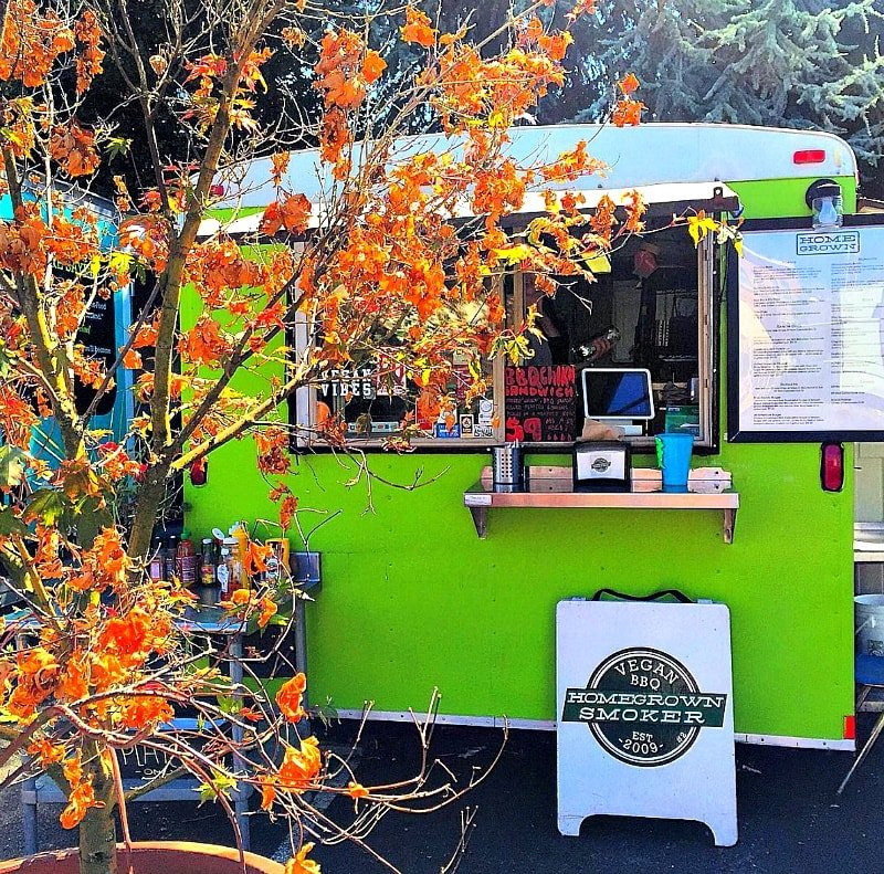 Portland food cart ~ Portland with kids