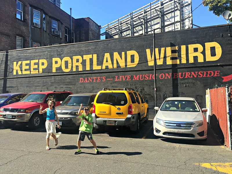 Keep Portland weird ~ Portland with kids
