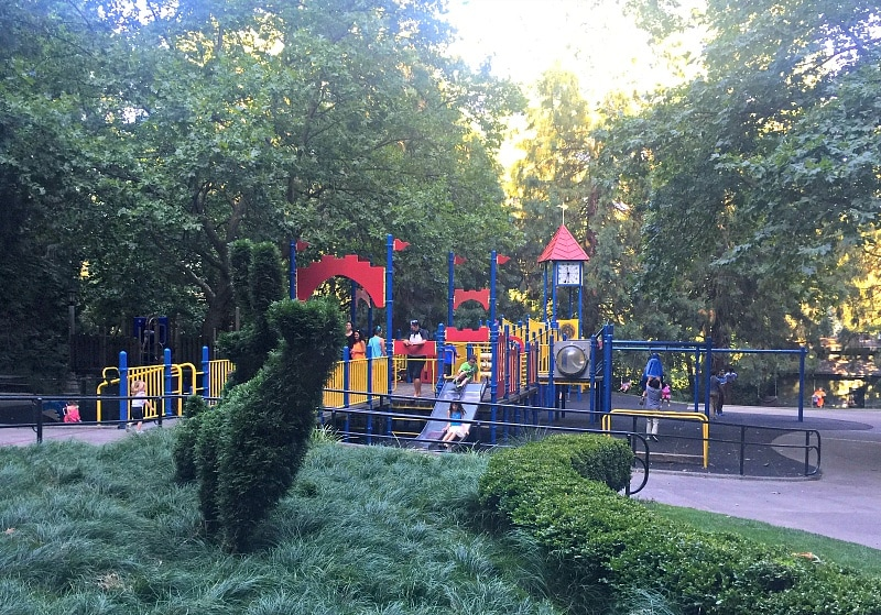Washington Park Playground ~ Portland with Kids