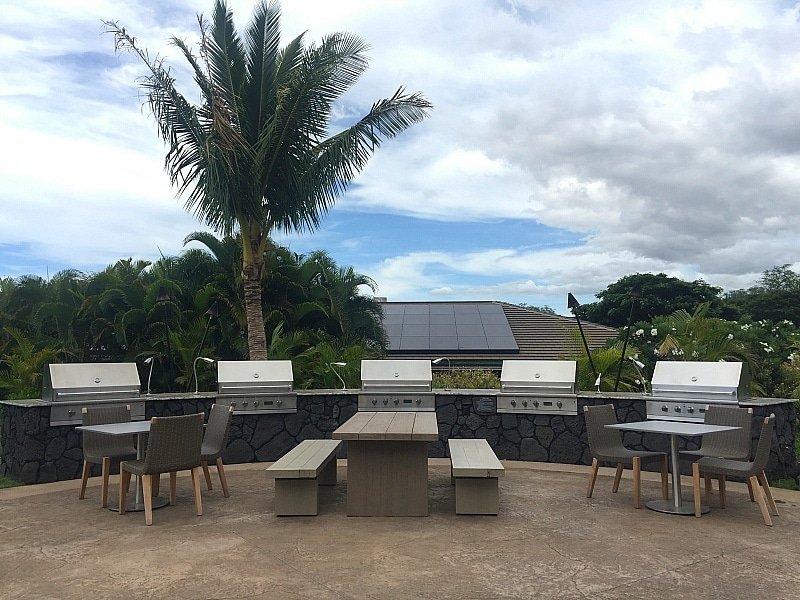 Grill out during your vacation at Residence Inn Maui