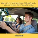 Join the Safe Teen Driving #KidsNTrips Twitter Party & Win $100 Prizes!