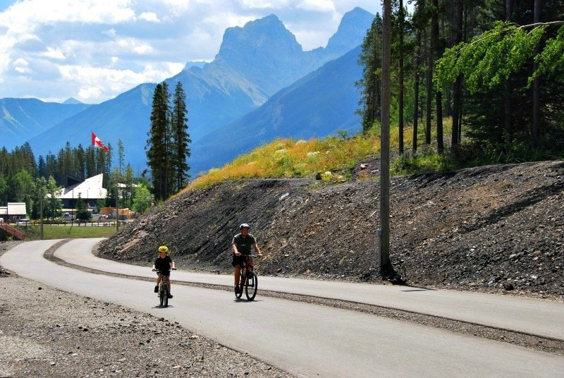Bicycling Canmore ~ Canmore with Kids