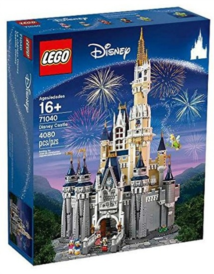 Wow the Disney fan on your list with this impressive Disney Castle LEGO kit ~ Gift Ideas for Girls