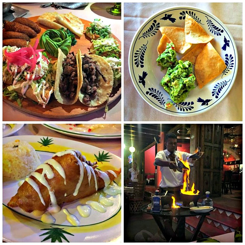 Enjoy wonderful Mexican cuisine at Los Deseos at Marina Fiesta Resort in Cabo San Lucas, Mexico