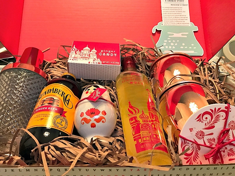Moscow's Finest ~ Thoughtfully themed gift boxes