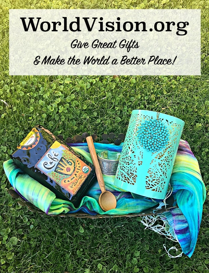 World Vision ~ Give great gifts and make the world a better place! Plus, enter to win World Vision gifts to keep or give away!