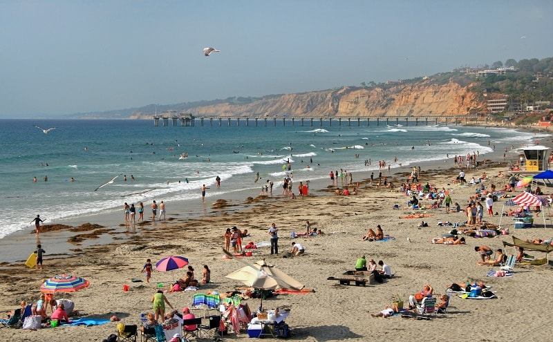 La Jolla Shores Beach ~ 15 Best San Diego Attractions for Kids