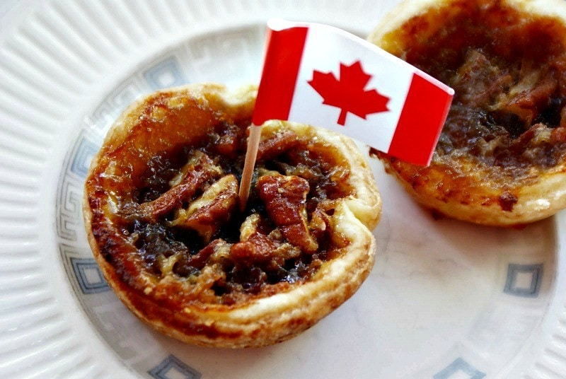 The magic sweetness of the humble Canadian butter tart ~ 10 Reasons to Visit Canada in 2017