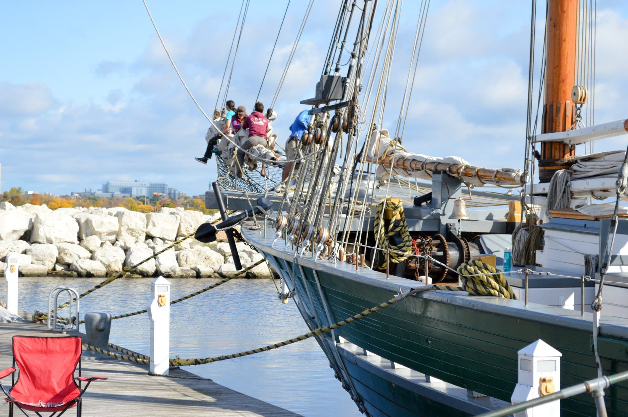 Learn to sail a Great Lakes Schooner at Discovery World (Photo credit: Bryan Richards)