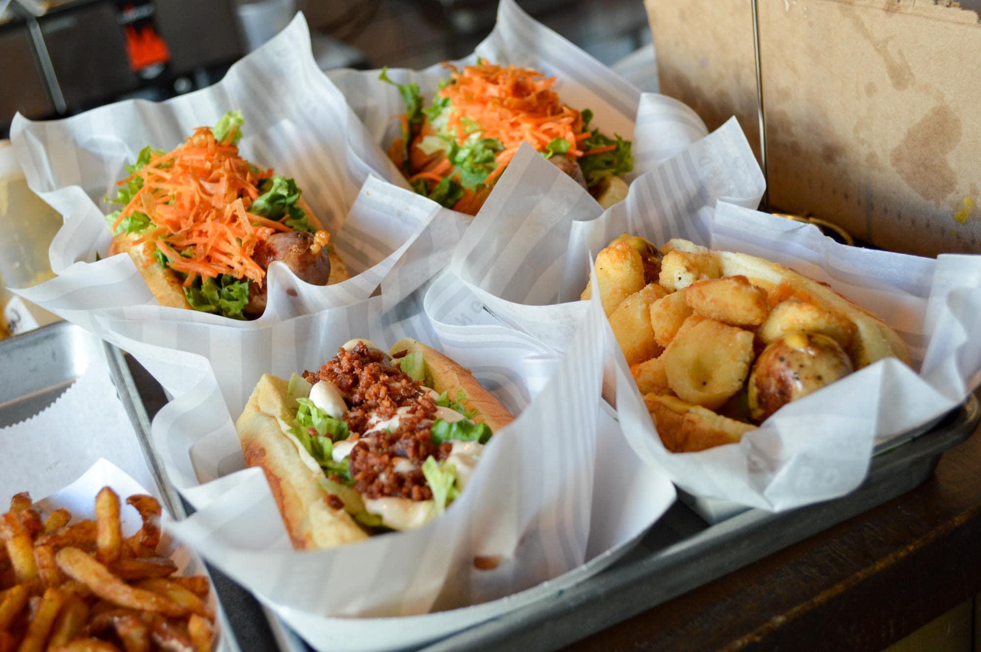Scratch made sausage at the Vanguard = man food (Photo credit: Bryan Richards)