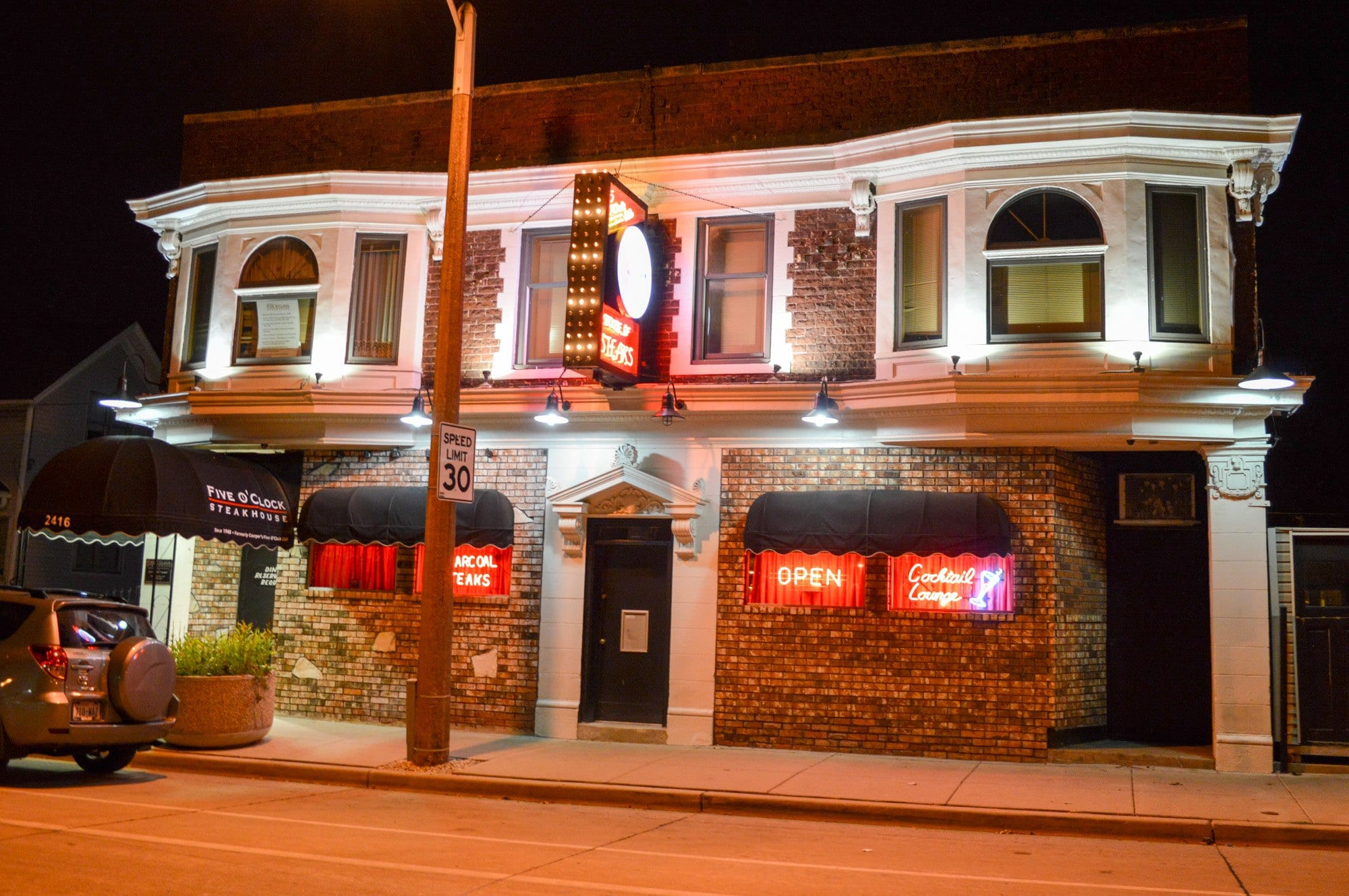 Eat the best steak of your life at Five O'clock Steakhouse ~ Milwuakee Guys Weekend