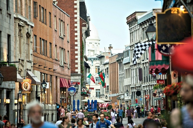 Old Montreal will be the heart of many of the city's 375th anniversary celebrations ~ 10 Reasons to Visit Canada in 2017
